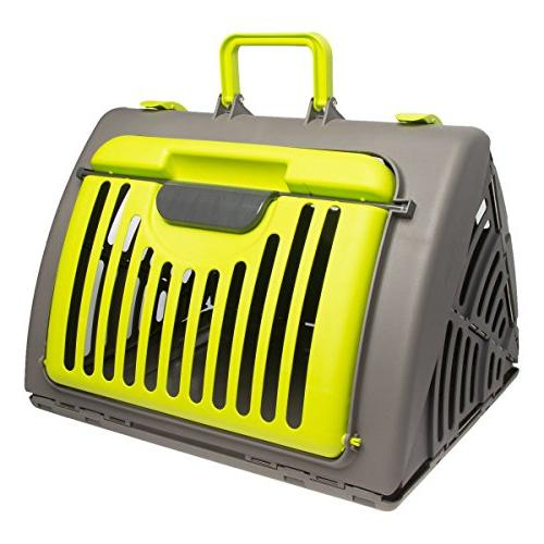 Pet Pet Carrier Cats Small Dogs 25 Pounds Plastic Folding
