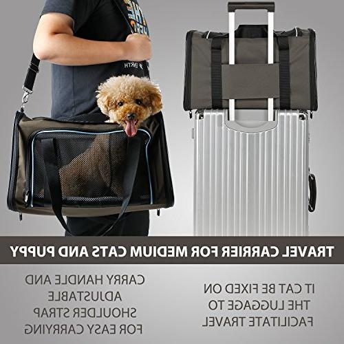 X-ZONE PET Approved Pet Carriers,Soft Sided Pet Medium