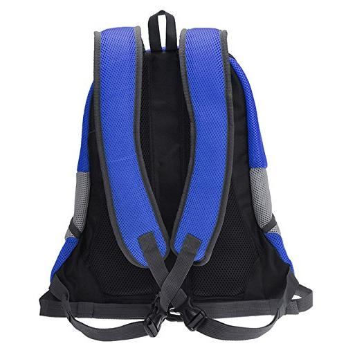 Mogoko Airline Approved Dog Pet Carrier Front Breathable Head and Double Padded Shoulder Hiking