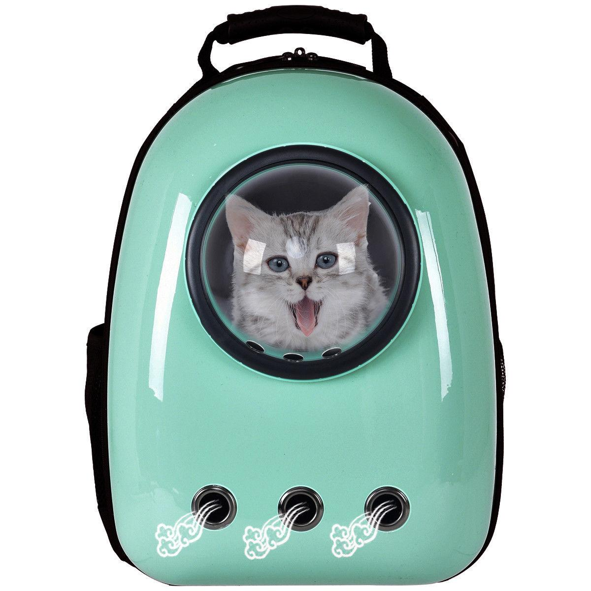 Astronaut Cat Puppy Carrier Bag Space Backpack