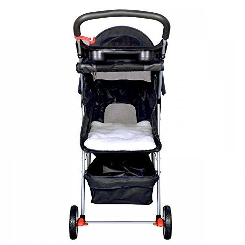 New Cat Dog 3 Wheels Stroller Travel Carrier