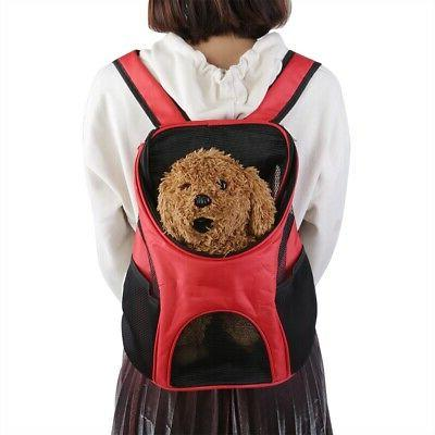 Breathable Dog Carrier Double Bag Puppy Cat Outdoor