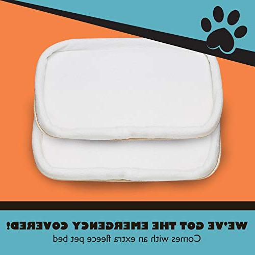 Pawfect Pets Pet Carrier Cat Carrier for Small and Seat. Comes