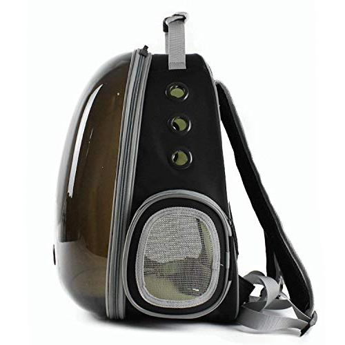shine-hearty Cat Backpack Breathable Dog Carrier Outdoor Pet Carrier Carrier,5,29X27X42CM