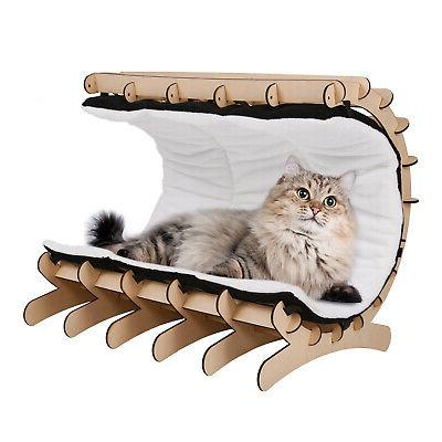 Cat Lounge Bed House Furniture with Mat and Toys