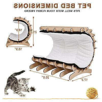 Cat Shelter Lounge with and Toys