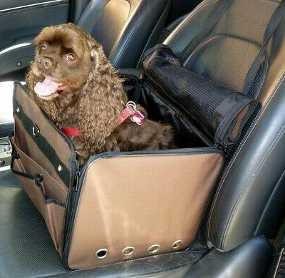 HDP Chocolate 3 in one Small animal Cat or Dog Carrier/Car s