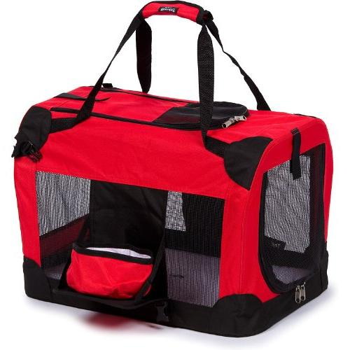 red deluxe vista view carrier
