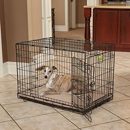 MidWest Deluxe Terry Bed, Dog Bed Crate