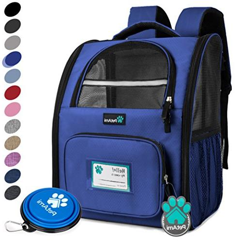 deluxe pet carrier backpack cats