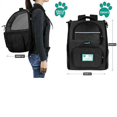 Pet Carrier Backpack Cat Dog Travel Hiking