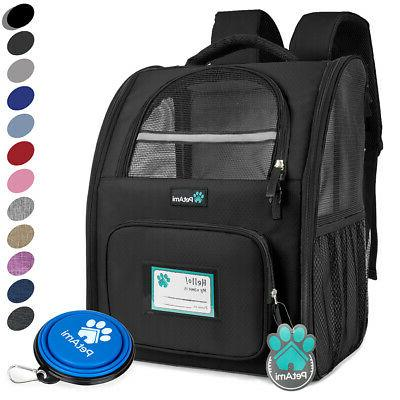 deluxe pet carrier backpack for small cats