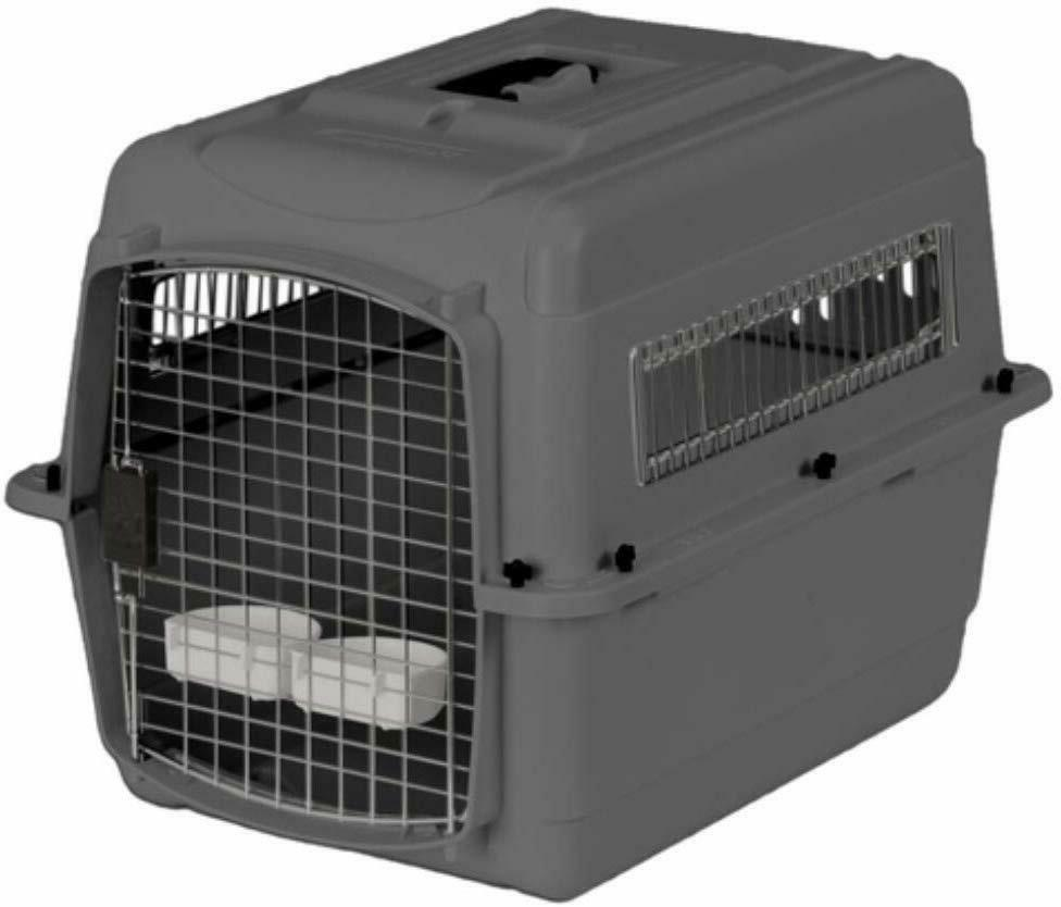 Petmate Sky Kennel Carrier Cage Travel Dog Cats lbs