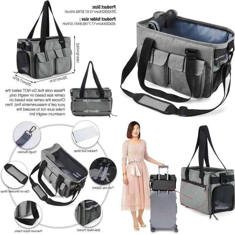 dog carrier pet airline approved cat travel