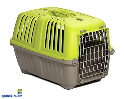 dog cat carrier plastic crate travel cage