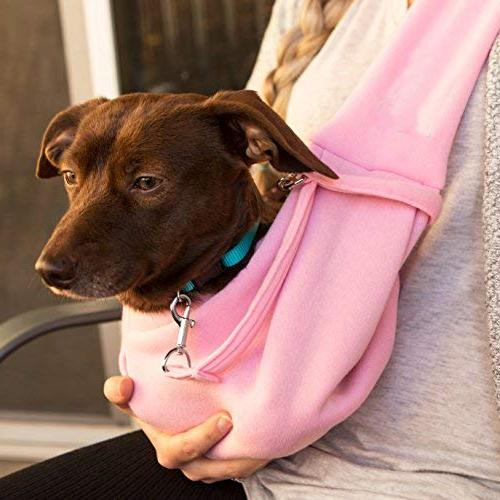 iPrimio and Hands Free Carrier Sling - Carrier Bag Papoose. Super Pouch and Great and Puppy Carrier/Cat Front Pack Design