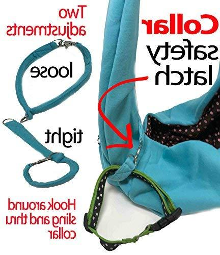 iPrimio Dog and Hands Carrier - Reversible Carrier Papoose. and Tote. and Puppy Front Design