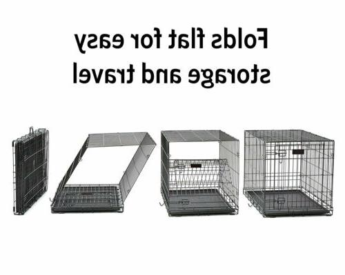 MidWest Dog Crate Double ,48in