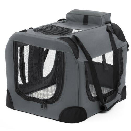 Dog Crate Soft Pet Carrier Foldable