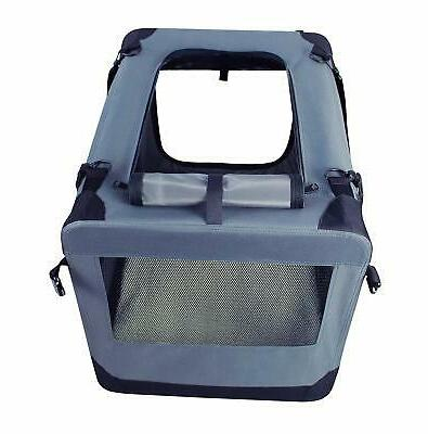 Dog Kennel 3 Door Folding Pet &