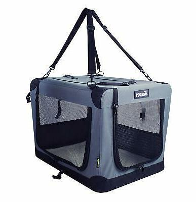 dog crates kennel 3 door 26 folding