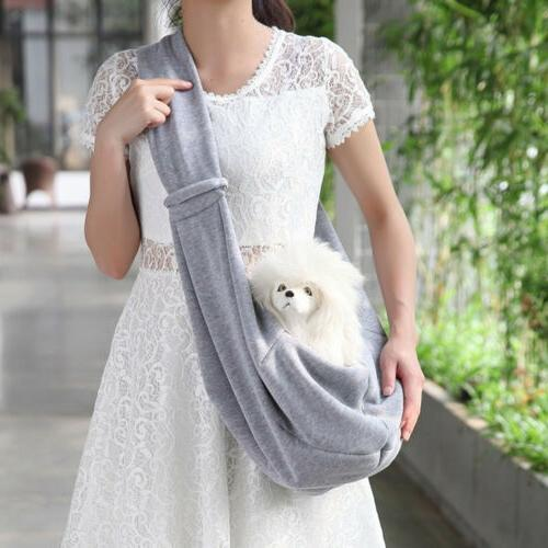small dog pet cat carrier sling puppy