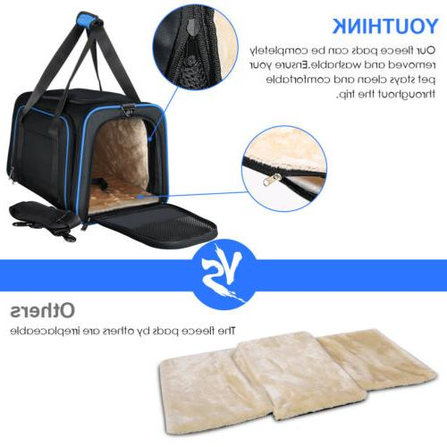 Expandable Carrier Approved Cats & Dogs