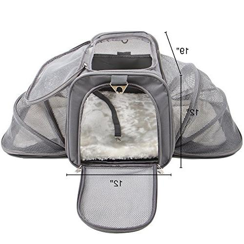 Jet Dog Cat Soft Carriers Dogs Travel Crate