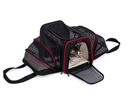 mypal Expandable Carrier, for Carry Luggage. for Small Dogs, Puppies, Kittens, More!