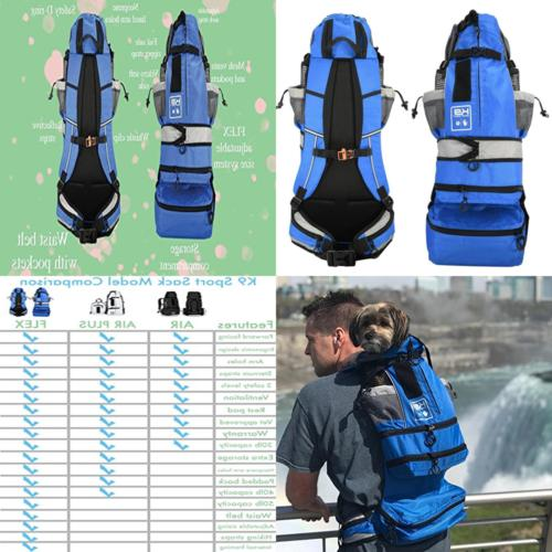 flex dog carrier backpack for small