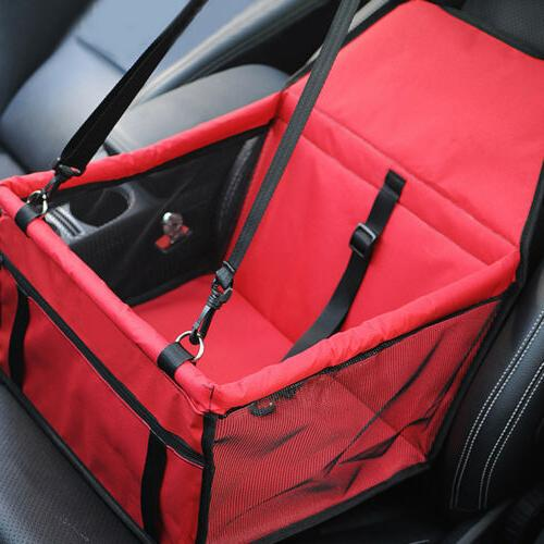 Foldable Seat Car Seat Dog Lookout w/ Leash
