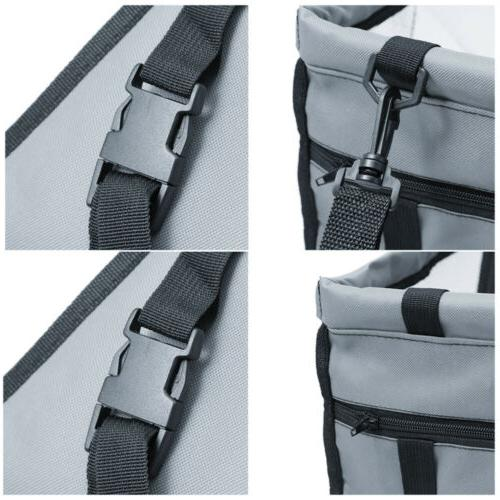 Foldable Pet Dog Seat Front Rear Sided Bag Travel