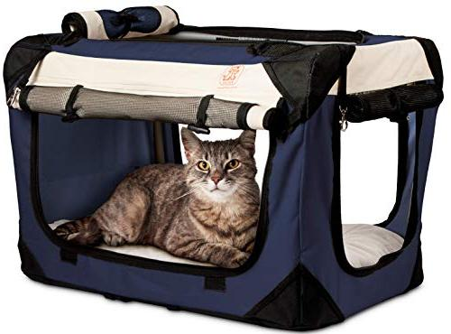 happy cat soft sided foldable