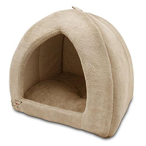 indoor dog house bed soft