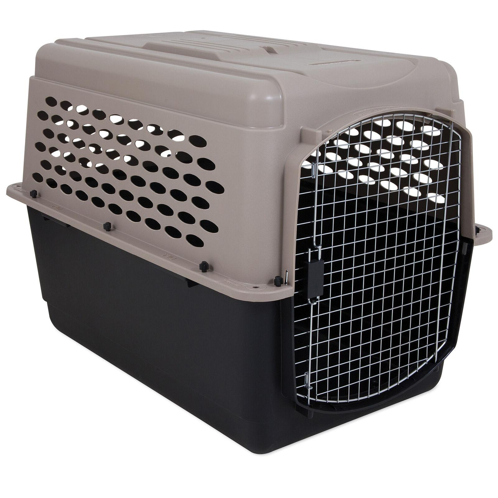 kennel dog crate plastic travel airline pet