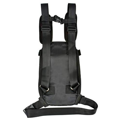 NICREW Front Pack Adjustable Backpack, Travel for Small Doggie for