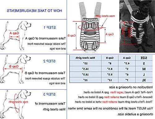 COODIA Legs Out Front Pet Dog Carrier Front Chest Pet Cat Puppy Tote Sling