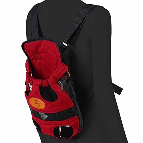 Riveroy Legs-Out Front Pet Dog Adjustable Travel Bag Puppy Breeds