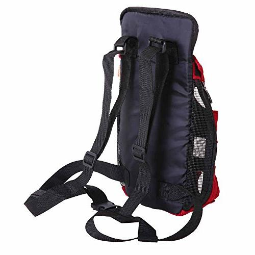 Riveroy Front Dog Adjustable Backpack Travel for Puppy Doggie Cat Breeds Outdoor