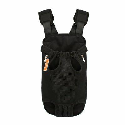 legs front facing dog carrier