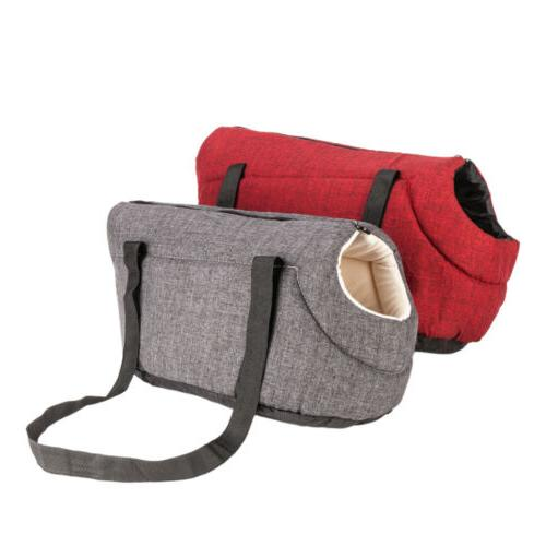 Light Pet Carrier Cat Bag Red S/M Size