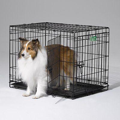 MidWest Homes For Pets iCrate Double Metal Dog Crate