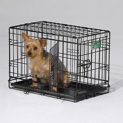 MidWest Pets iCrate Folding Double Metal Dog