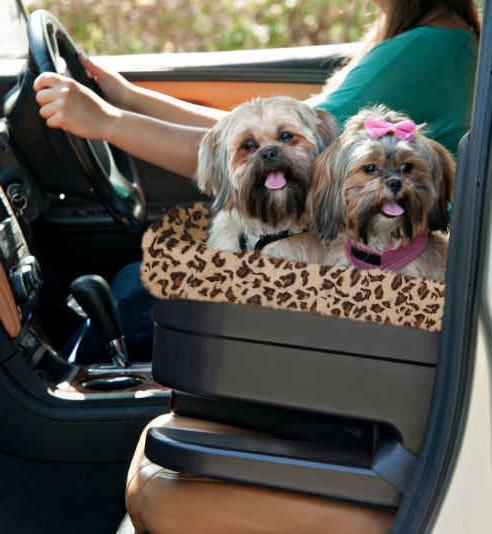 Dog Pet Booster Car Seat Carrier Jaguar Large