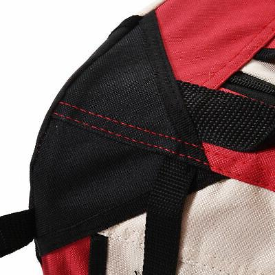 New 4 Sizes Dog Carrier Portable Soft Sided Travel Tote Bag Red