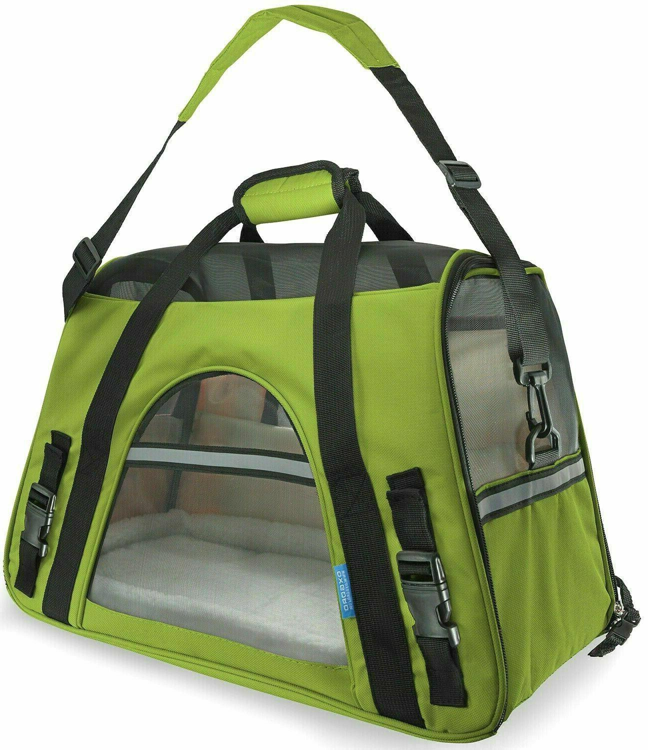 NEW Carrier Sided Cat Comfort Travel Tote Approved