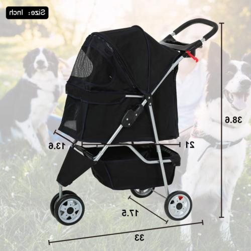 BestPet Pet Stroller Cat Carrier