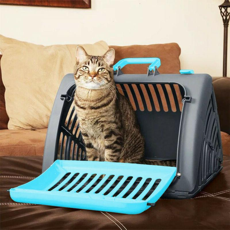 pet carrier plastic large cat dog comfort