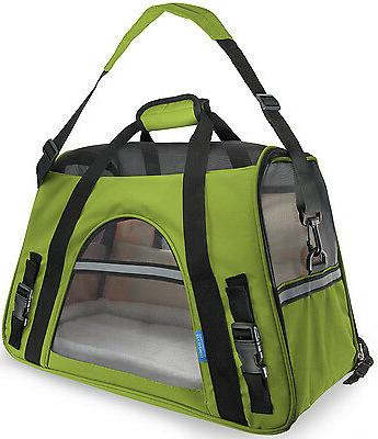 Pet Carrier Soft Sided Cat Comfort Tote Airline