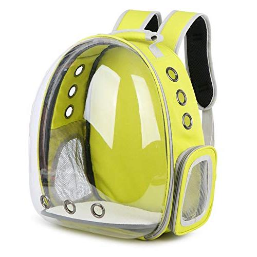 shine-hearty Backpack Translucent Breathable Outdoor Carrier Bag Carrier,5,29X27X42CM